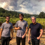 James Suckling a Radio Bottiglia Napa Fire