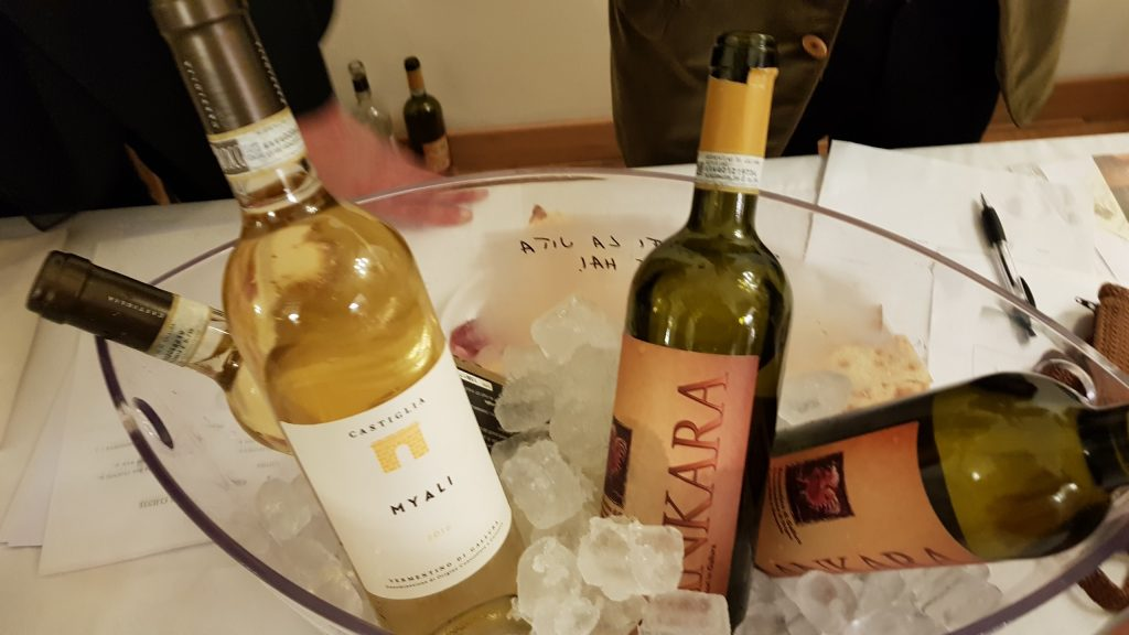 Vini della Sardegna Degustazione Go Wine Radio Bottiglia