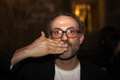 Massimo Bottura 50 best restaurants