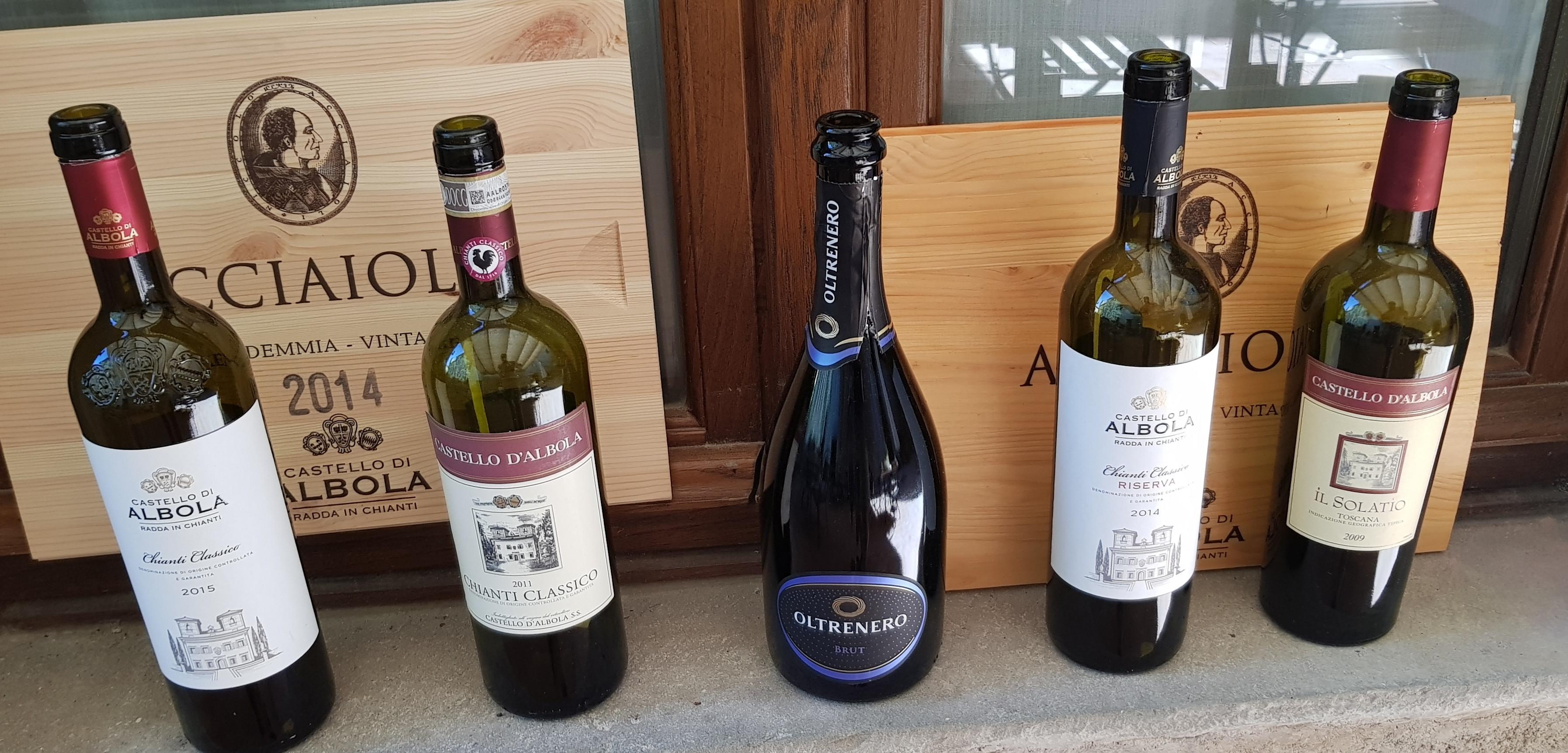 I vini di Albola