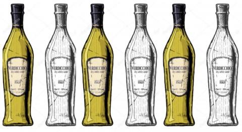 Verdicchio Mario Soldati Bottiglie Anfora