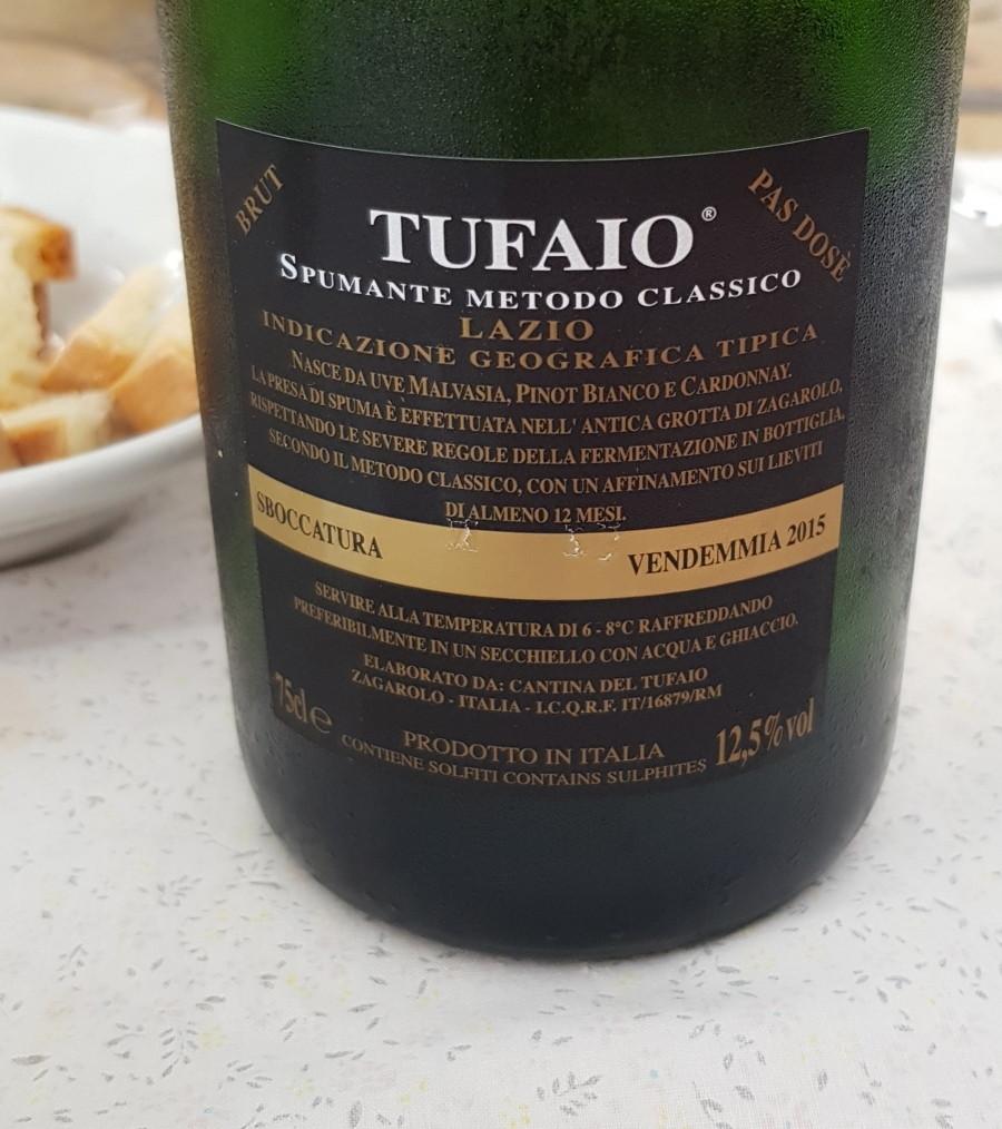 Cantina del Tufaio - Pas dosè