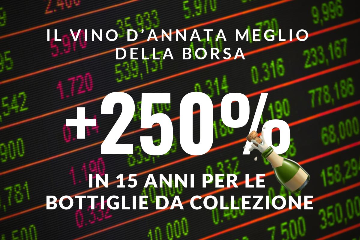 e418ce49af Investire nel vino conviene ed è più sicuro della Borsa