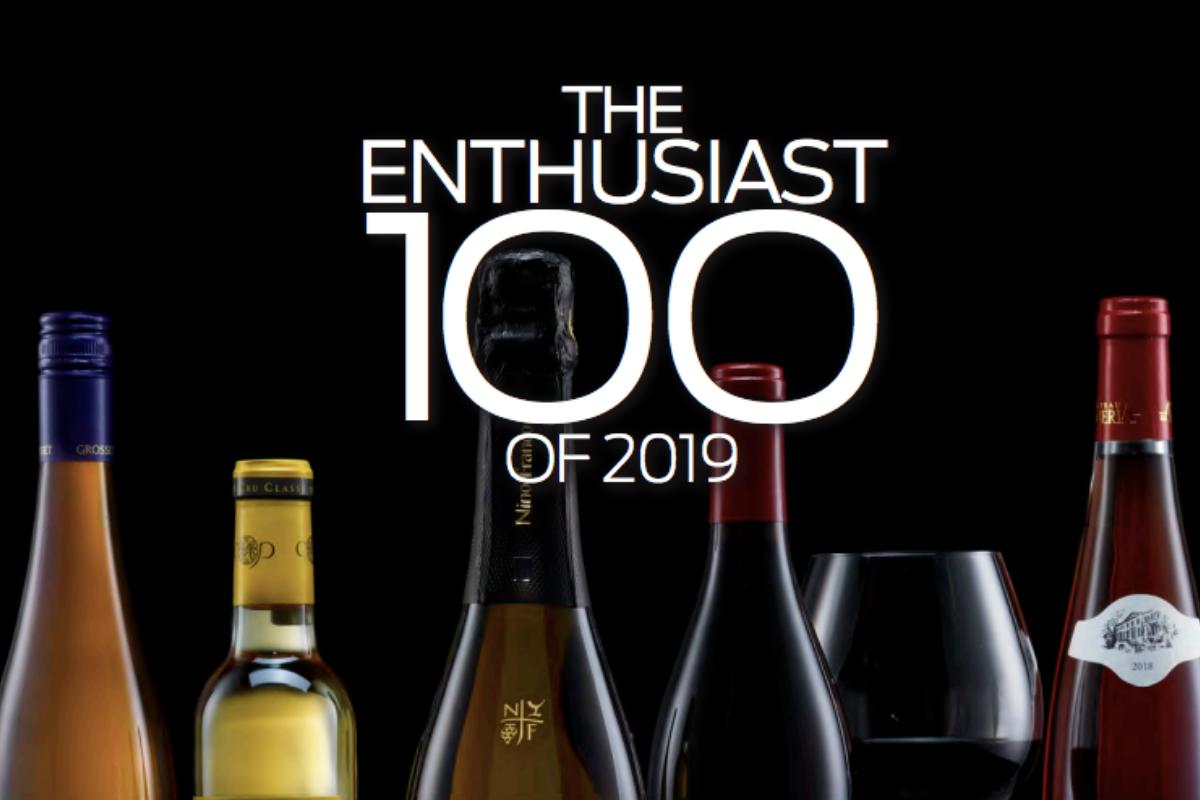 Risultato immagini per wine enthusiast 2019 top 100