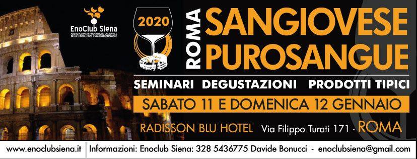 sangiovese purosangue 2020 Roma