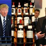Trump Macron e i Dazi vino francese