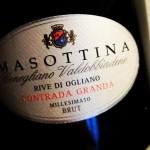 Masottina Conegliano Valdobbiadene Prosecco Superiore Rive di Ogliano Brut 2018.