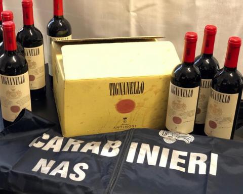 Truffa del vino 2020. Brunello e champagne falsi su Ebay