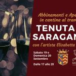 Evento Abbinemanti e Aperitivo in Cantina al Tramonto Saragano