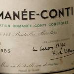 La storia della bottiglia di Romanée Conti da 900mila euro