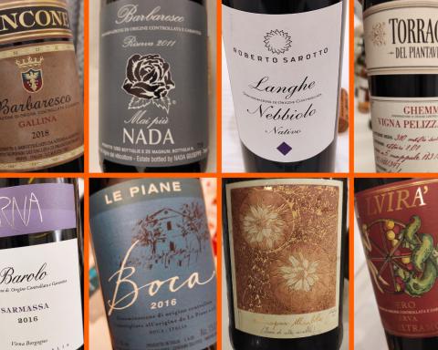 Barolo, Barbaresco, Roero e altri grandi vini piemontesi
